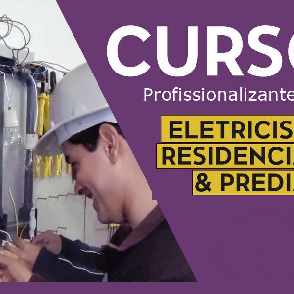 Imagem principal do produto CURSO ELÉTRICA RESIDENCIAL E PREDIAL