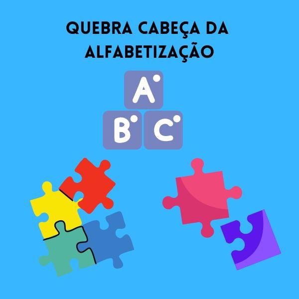 Imagem principal do produto Alfabetização: Quebra Cabeça das Palavras