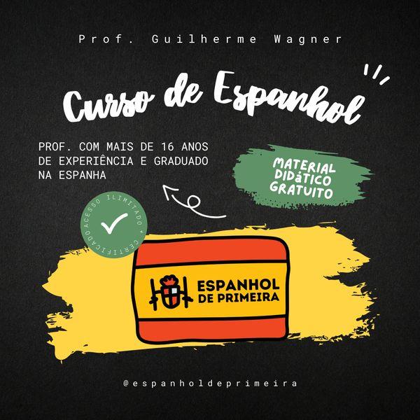 Imagem principal do produto Espanhol de Primeira -  Curso de espanhol para brasileiros