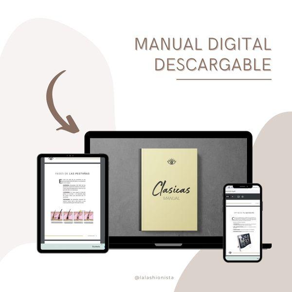 Imagem principal do produto MANUAL CLASICAS 2019- LASHIONISTA