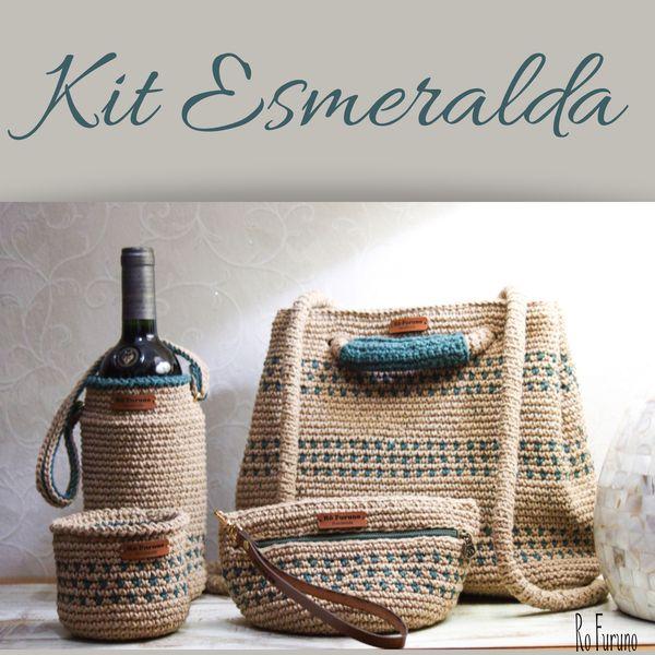 Imagem principal do produto Kit em Crochê Esmeralda