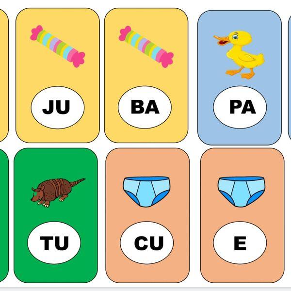 """Imagem principal do produto Jogo Pedagógico """"Formando Palavras"""""""