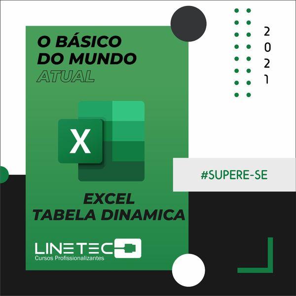 Imagem principal do produto Excel - Tabela Dinâmica