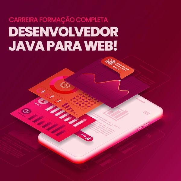 Imagem principal do produto Carreira Formação Completa Desenvolvedor JAVA para WEB