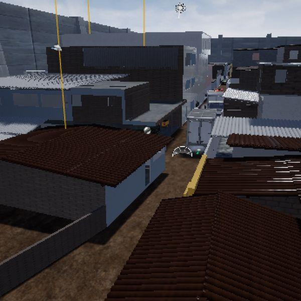Imagem principal do produto casa  de favela 3D
