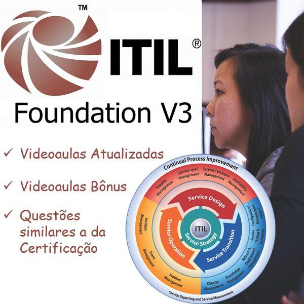Imagem principal do produto Aprenda ITIL v3 Foundation do ZERO