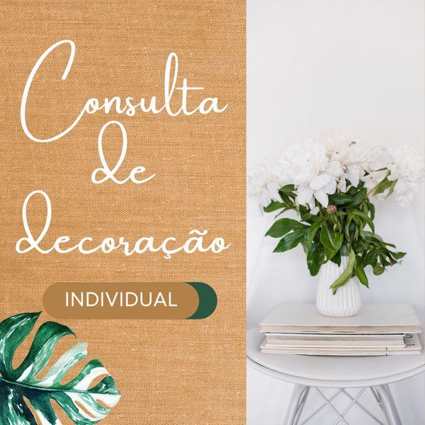 Imagem principal do produto Consulta de decoração individual