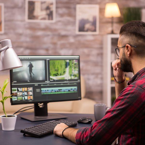 Imagem principal do produto Edición de vídeo para negocios digitales