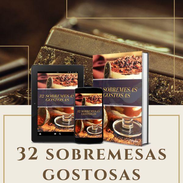 Imagem principal do produto 32 Sobremesas Gostosas