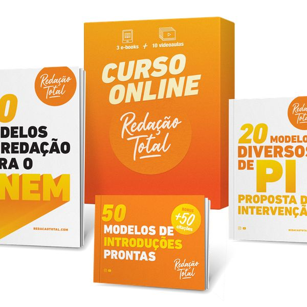 Imagem principal do produto Curso Completo Redação Total