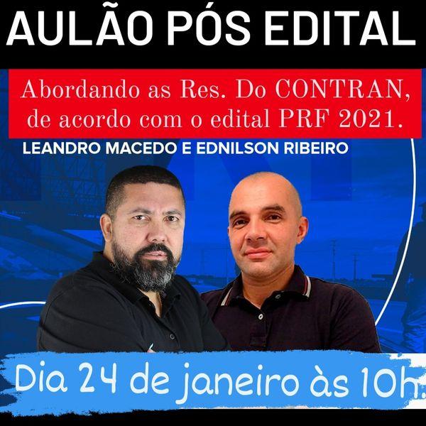 Imagem principal do produto AULÃO PÓS EDITAL RES. DO CONTRAN