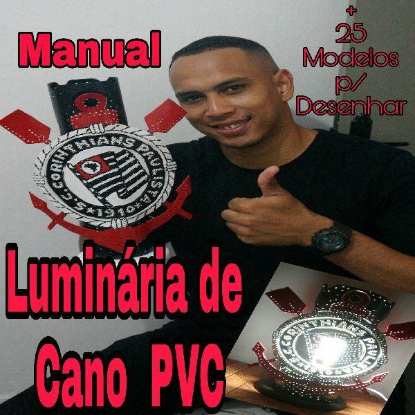 Manual Completo De Abajur E Luminarias Artesanais De Pvc Arthur