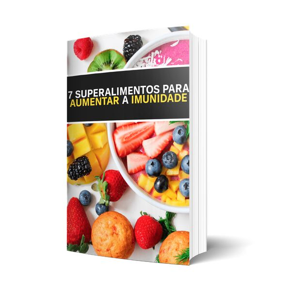 Imagem principal do produto 7 Superalimentos Para Aumentar A Imunidade