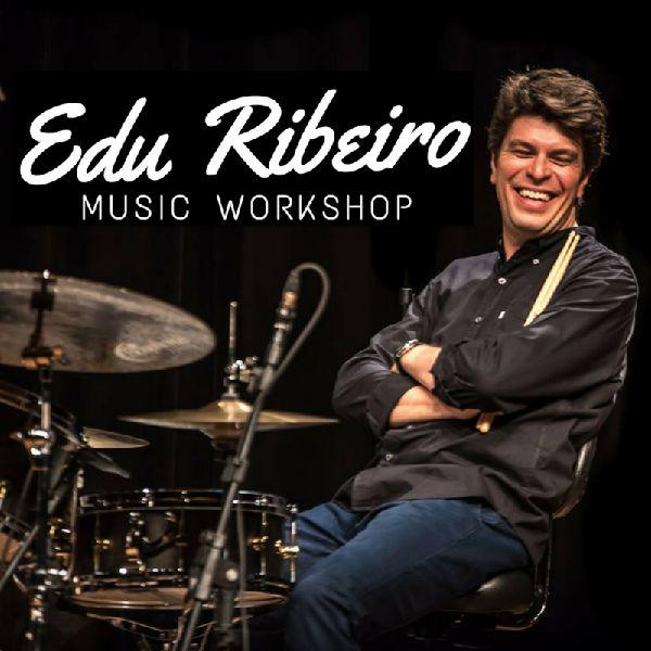 Imagem principal do produto Edu Ribeiro Music Workshop - Techniques and Coordinations for Brazilian Rhythms on the Drum Set