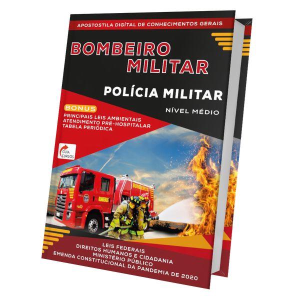 Imagem principal do produto Apostila de conhecimentos gerais para concurso do bombeiro e polícia militar