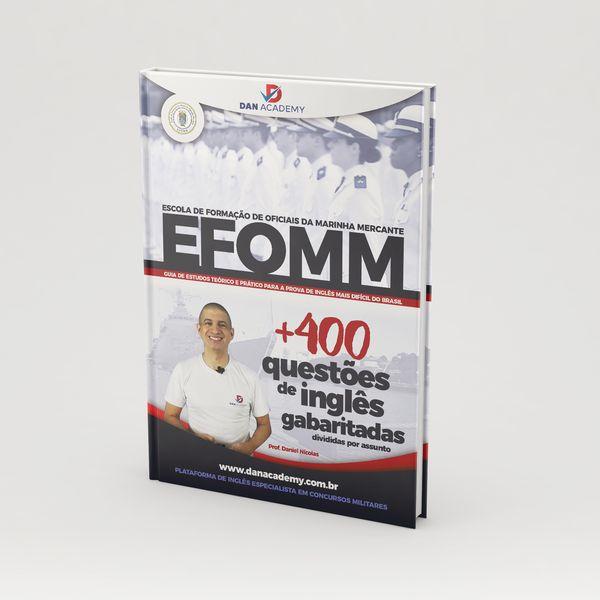 Imagem principal do produto [EFOMM] +400 questões gabaritadas de inglês
