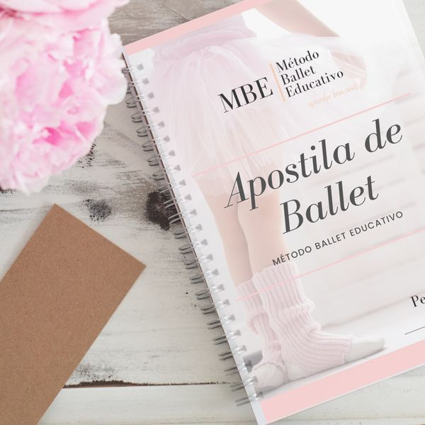 Imagem principal do produto Apostila de Ballet MBE vol. 1