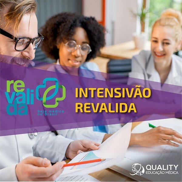 Imagem principal do produto Intensivão Revalida 2021