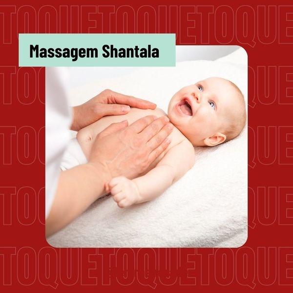 Imagem principal do produto Massagem Shantala