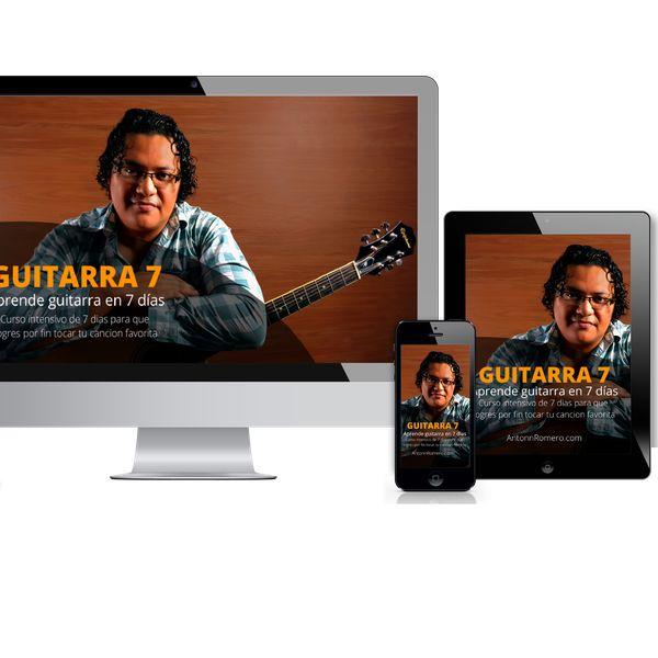 Imagem principal do produto GUITARRA 7