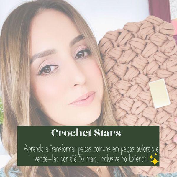 Imagem principal do produto Crochet Stars - Venda o seu crochê para o Exterior