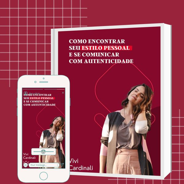 Imagem principal do produto Ebook - COMO ENCONTRAR  SEU ESTILO PESSOAL  E SE COMUNICAR COM AUTENTICIDADE