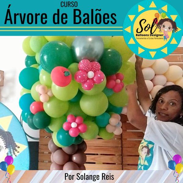 Imagem principal do produto Árvore de Balões