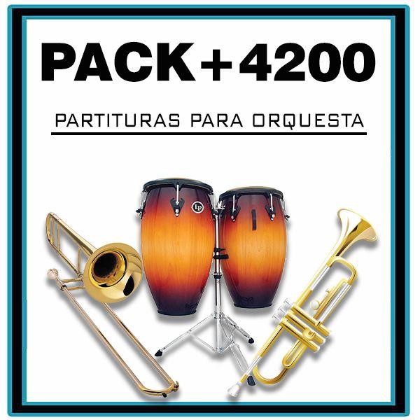 Imagem principal do produto +4200 PARTITURAS PARA ORQUESTA