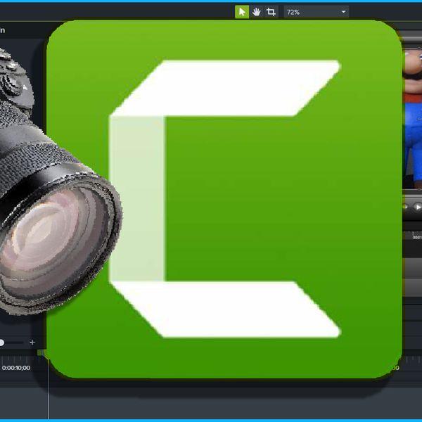 Imagem principal do produto CAMTASIA Studio 9 - Aprenda editar vídeo com facilidade.