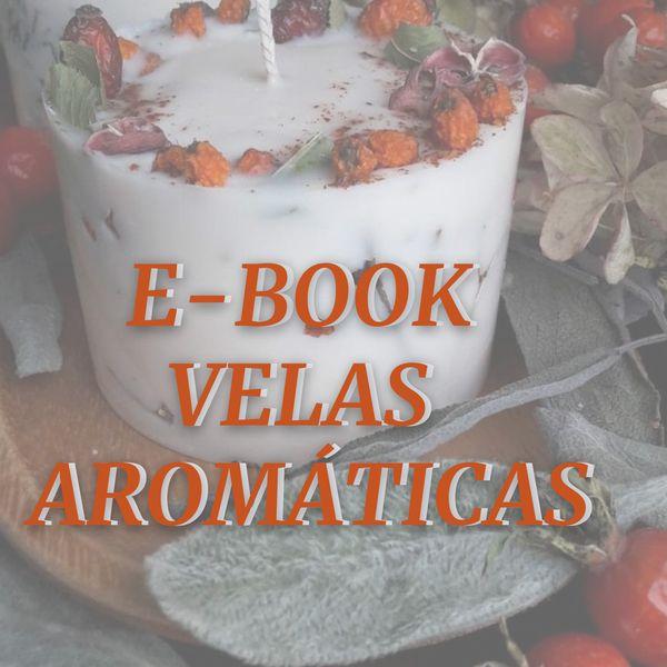 Imagem principal do produto E-BOOK VELAS AROMÁTICAS
