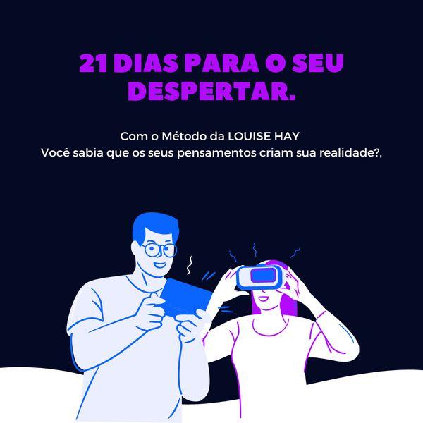Imagem principal do produto 21 DIAS PARA O SEU DESPERTAR.