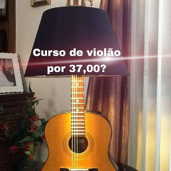 Imagem principal do produto Curso de violão para iniciantes