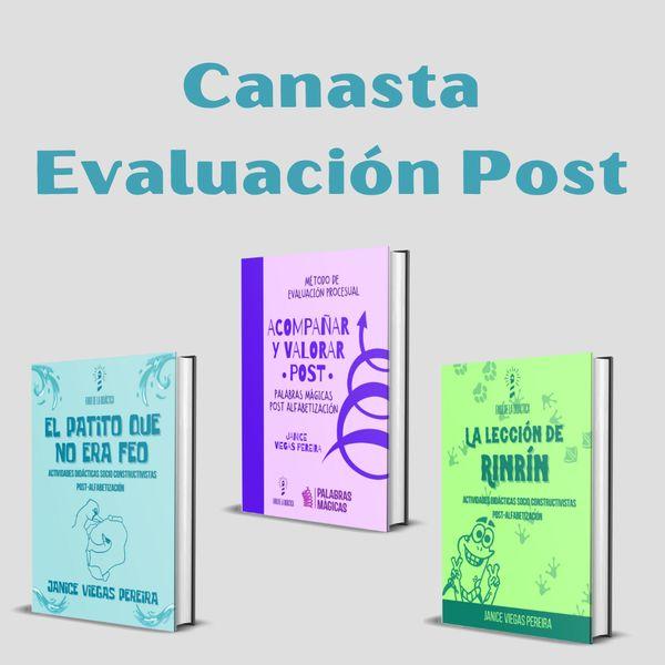 Imagem principal do produto CANASTA EVALUACIÓN POST
