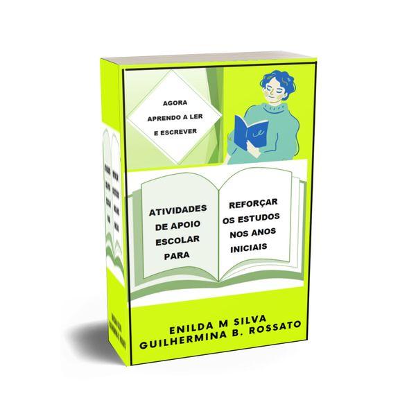 Imagem principal do produto Agora Aprendo a Ler e Escrever