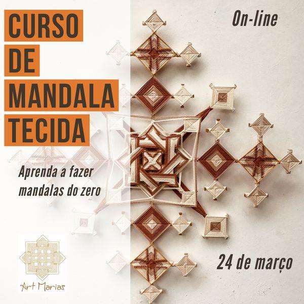 Imagem principal do produto Curso de Mandalas Tecidas (ojo de dios)