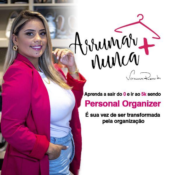 Imagem principal do produto CURSO ARRUMAR NUNCA MAIS - PERSONAL ORGANIZER