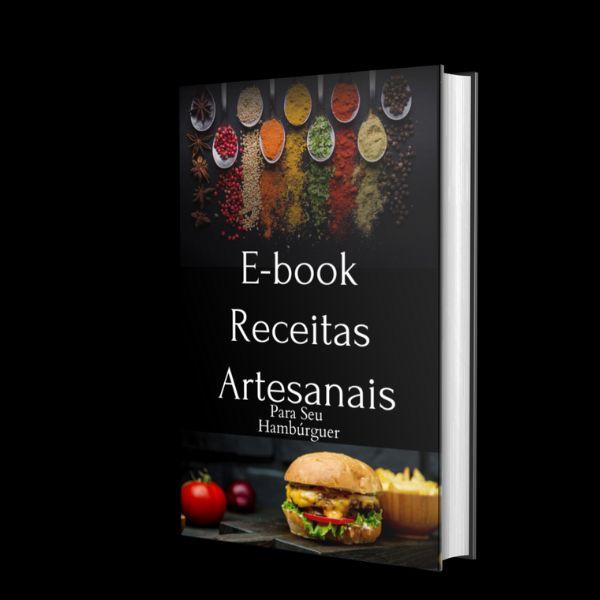 Imagem principal do produto E-book Receitas Artesanais para Hambúrguer