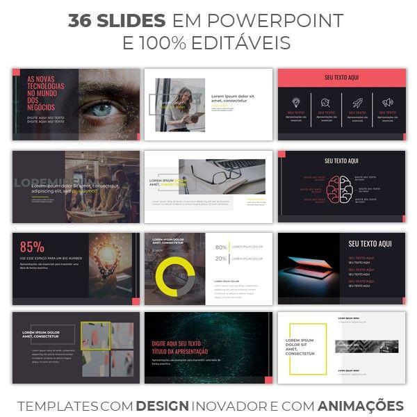 Imagem principal do produto 2 apresentações premium em powerpoint