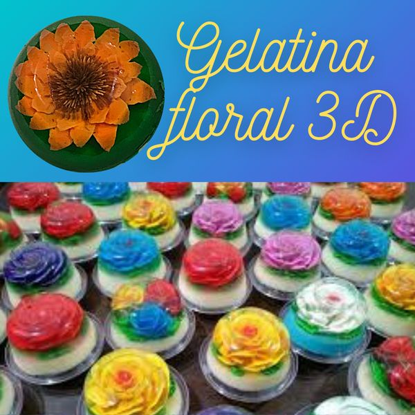 Imagem principal do produto GELATINAS FLORALES 3D