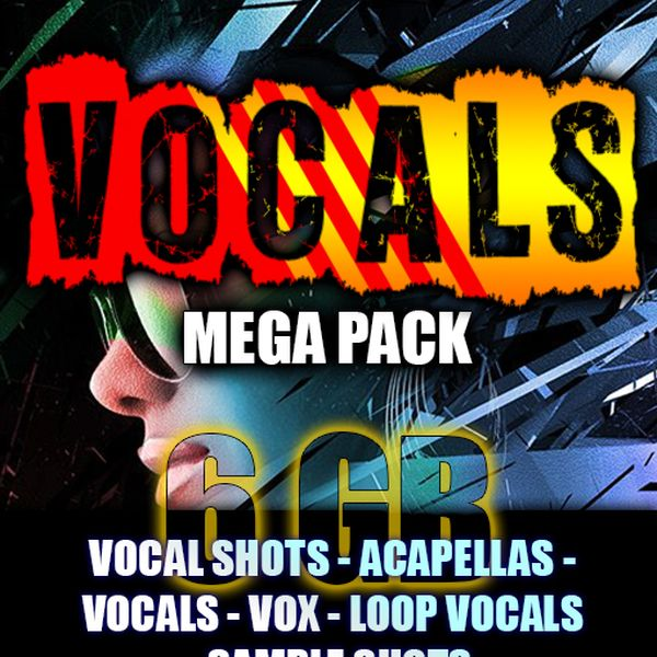 Imagem principal do produto Pack Vocals Acapellas Sample Shots Vocal Loops - G.pack 2020