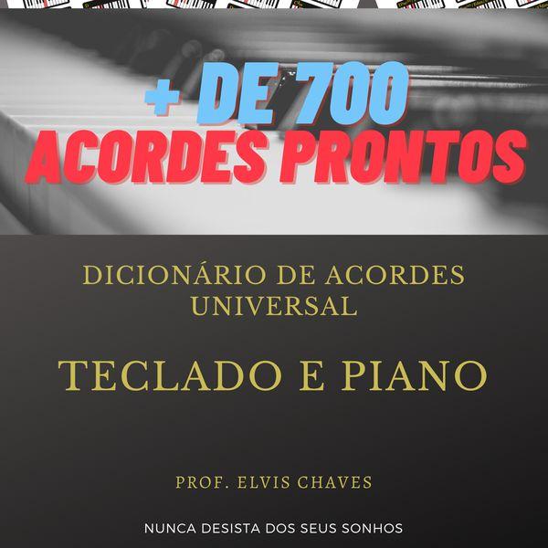 Imagem principal do produto 🎹 Dicionário de Acordes Universal para Teclado e Piano- Edição 2 - 2021