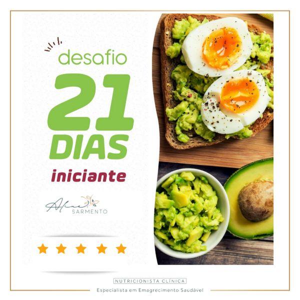 Imagem principal do produto 21 dias Emagrecendo com Prazer e Saúde!!!