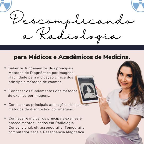 Imagem principal do produto Descomplicando a Radiologia para Médicos e Acadêmicos de Medicina.