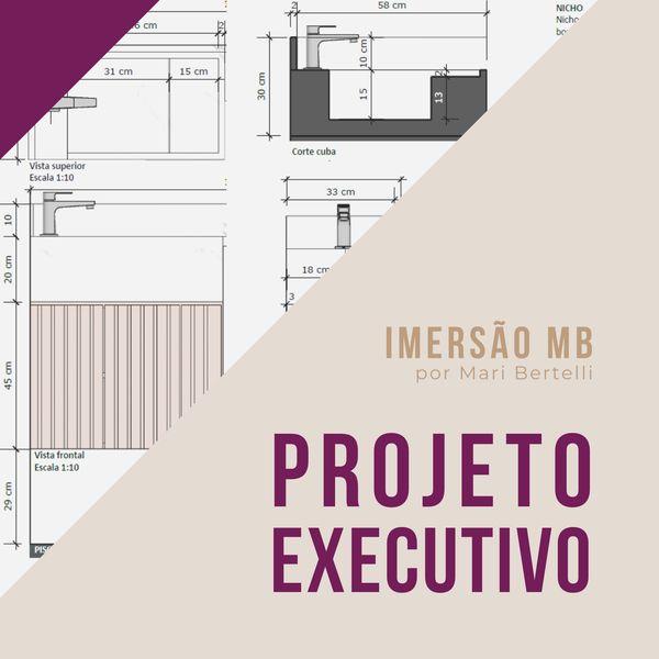 Imagem principal do produto IMERSÃO MB - Projeto Executivo