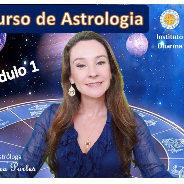 Imagem principal do produto Curso de Astrologia - Módulo 1 - Formação Profissional