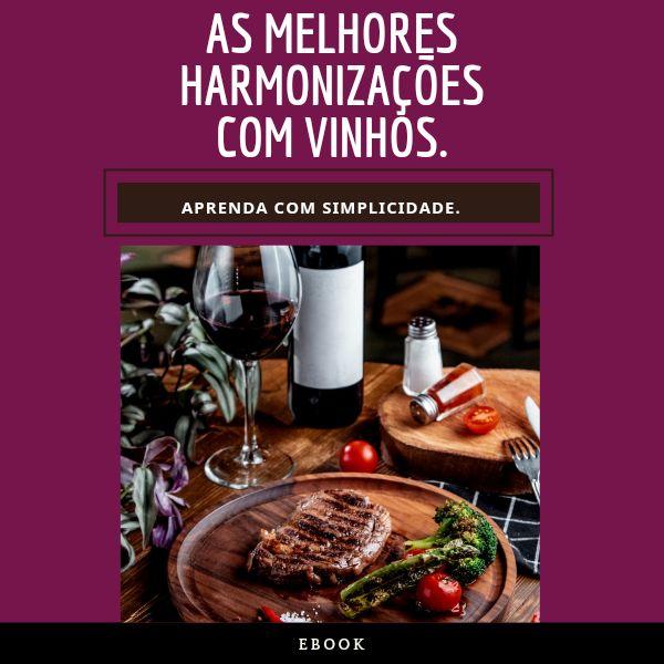 Imagem principal do produto As Melhores Harmonizações Com Vinhos