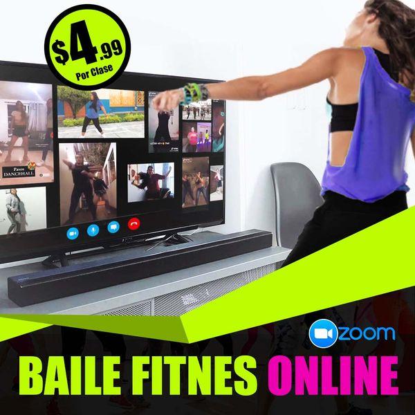 Imagem principal do produto Baile y Fitness En Vivo - Programa Cuídate bailando
