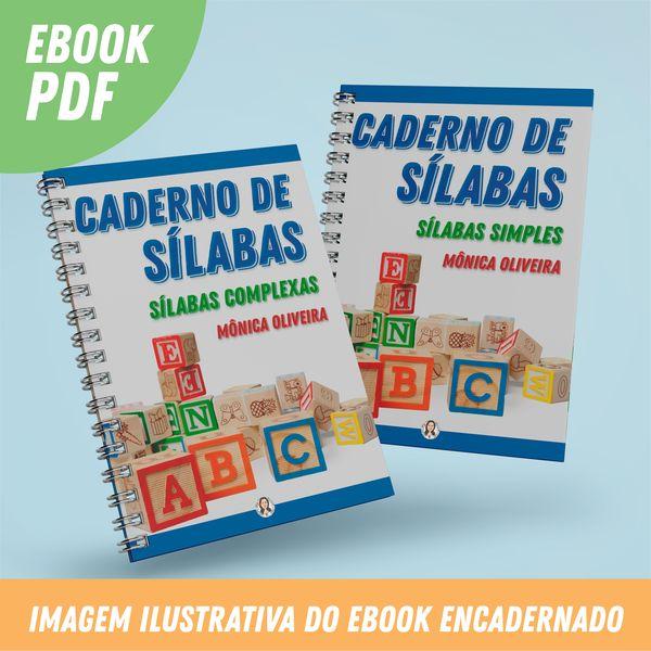 Imagem principal do produto Cadernos de Sílabas