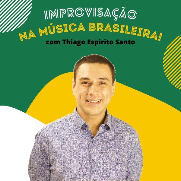 Imagem principal do produto Improvisação Sem Mistérios - Ritmos Brasileiros