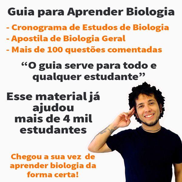 Imagem principal do produto Cronograma de Estudos Biologia e Material Completo.